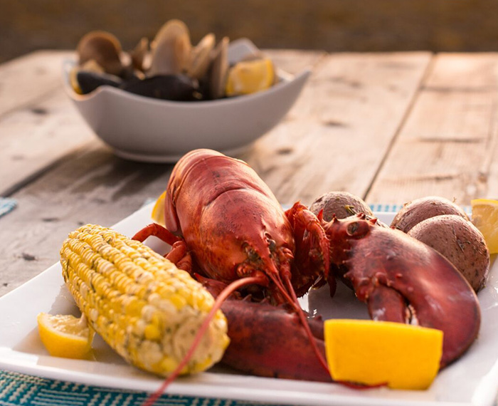 Delicious Lobster and Corn Dinner
